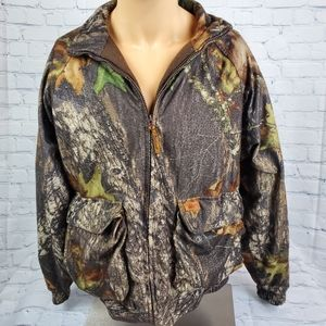 Vintage Woolrich Mossy Oak Break Up Camo Quilted F